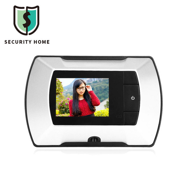 Fimei 601A 2.4 Inch LCD Digital Peephole Smart Door Viewer With Camera  Photo Function Home Security
