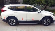 Para Honda CRV CR-V 2017 2018 Acero Inoxidable Del Cuerpo de Coche Molding Ajuste de La Cubierta 6 unids Car Styling accesorios!