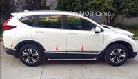 Left Hand Drive For Honda CRV CR V 2017 2018 Stainless Steel Car Body Molding Cover
