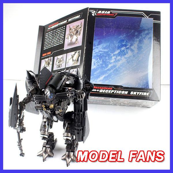 FÃS MODELO IN-STOCK TF KO robô Transformação nível L versão do filme Jetfire/Skyfire 25 cm alta ação figura toy