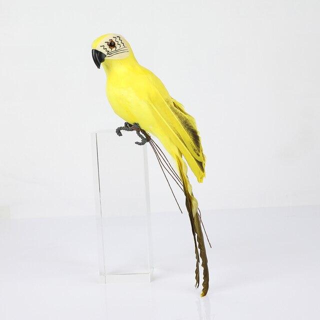 25/35cm handmade simulation parrot