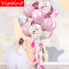 VIPOINT PARTY 20pcs 12inch black pink blue green latex balloons wedding event christmas halloween festival birthday party PD-133