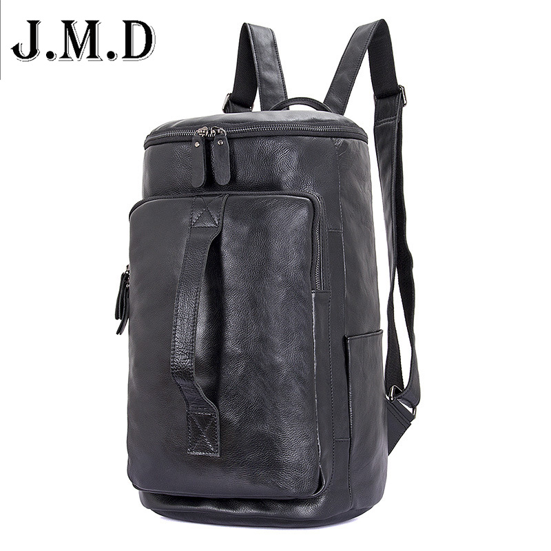 High Quality Top Layer Leather Classic Men's Travel Bags Large Capacity male Travel Backpack Bucket Bag Laptop Bag акустика центрального канала piega classic center large macassar high gloss