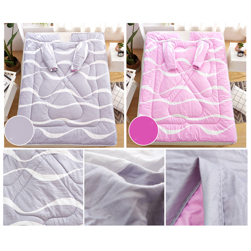 Winter Comforters Lazy Quilt With Sleeves Very Comf