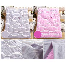 Winter Comforters Lazy Quilt With Sleeves Very Comfortable Thickened Washed Quilt Blanket 150x200cm new arrival #4n26