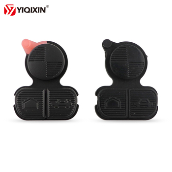 YIQIXIN 1/Piece 3 Button Remote Car Key Repair Pad Replacement Entry Fob Shell Case Housing For BMW Series 3 5 7 E36 E38 E39 Z3 image