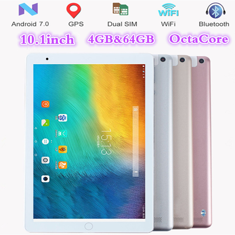 FENGXIANG 10.1 pouce 4g LTE Android 7.0 comprimés Octa Core IPS tablette pcs 4 gb RAM 64 gb ROM wifi GPS 3g/4g téléphone Portable tablette pc