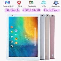 FENGXIANG 4G LTE дюймов 10,1 Android 7,0 планшеты Восьмиядерный ips планшетный ПК s 4G B оперативная память 6 4G B Встроенная Wi Fi gps 3g/4G мобильный телефон планшет