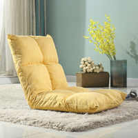 Bean bag chair fold sofa Single Fabric tatami folding totoro bed beanbag chair living room bay window back-rest chair Lazy sofa