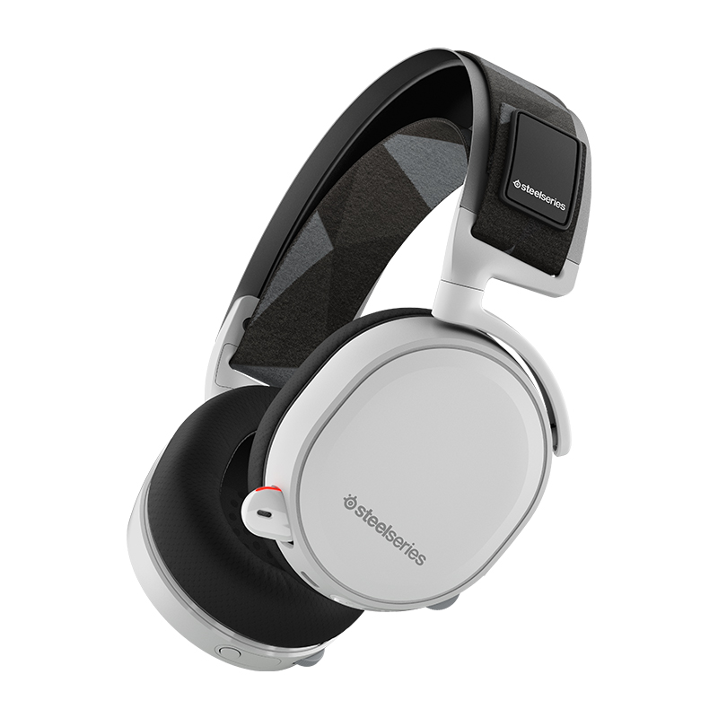SteelSeries Arctis 7 Lag-Free Wireless Gaming Headset with DTS Headphone:X 7.1 Surround for PC PlayStation 4 VR Mac and Wired
