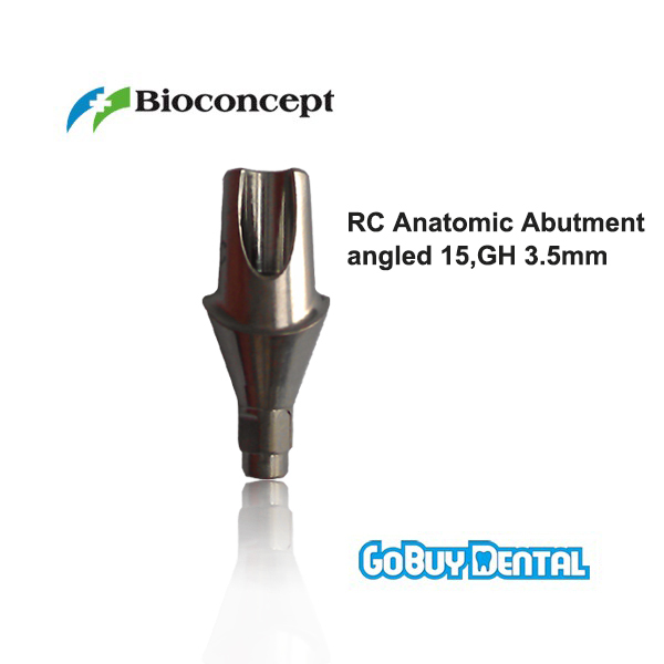 все цены на Straumann Compatible Bone Level RC Cementable abutment, Gingiva height 3.5mm