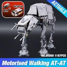 NOVA LEPIN 05050 1137 pcs AT-AT Tijolos de blocos de Construção do Modelo de robô Clássico Compatível 75054 Meninos Presente