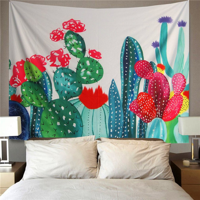 Cactus Wall Hanging Blanket