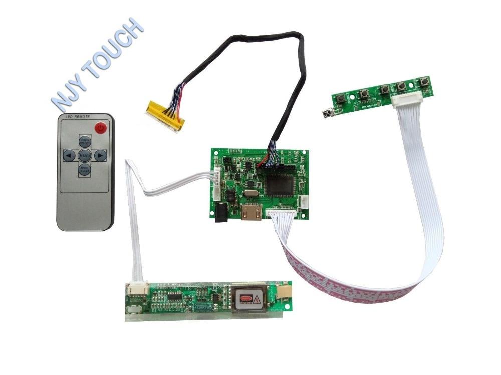 HDMI A Distanza LCD Bordo di Driver del Controller Per 15.4 N154I2-L02 N154I3-L03 1280x800 PannelloHDMI A Distanza LCD Bordo di Driver del Controller Per 15.4 N154I2-L02 N154I3-L03 1280x800 Pannello