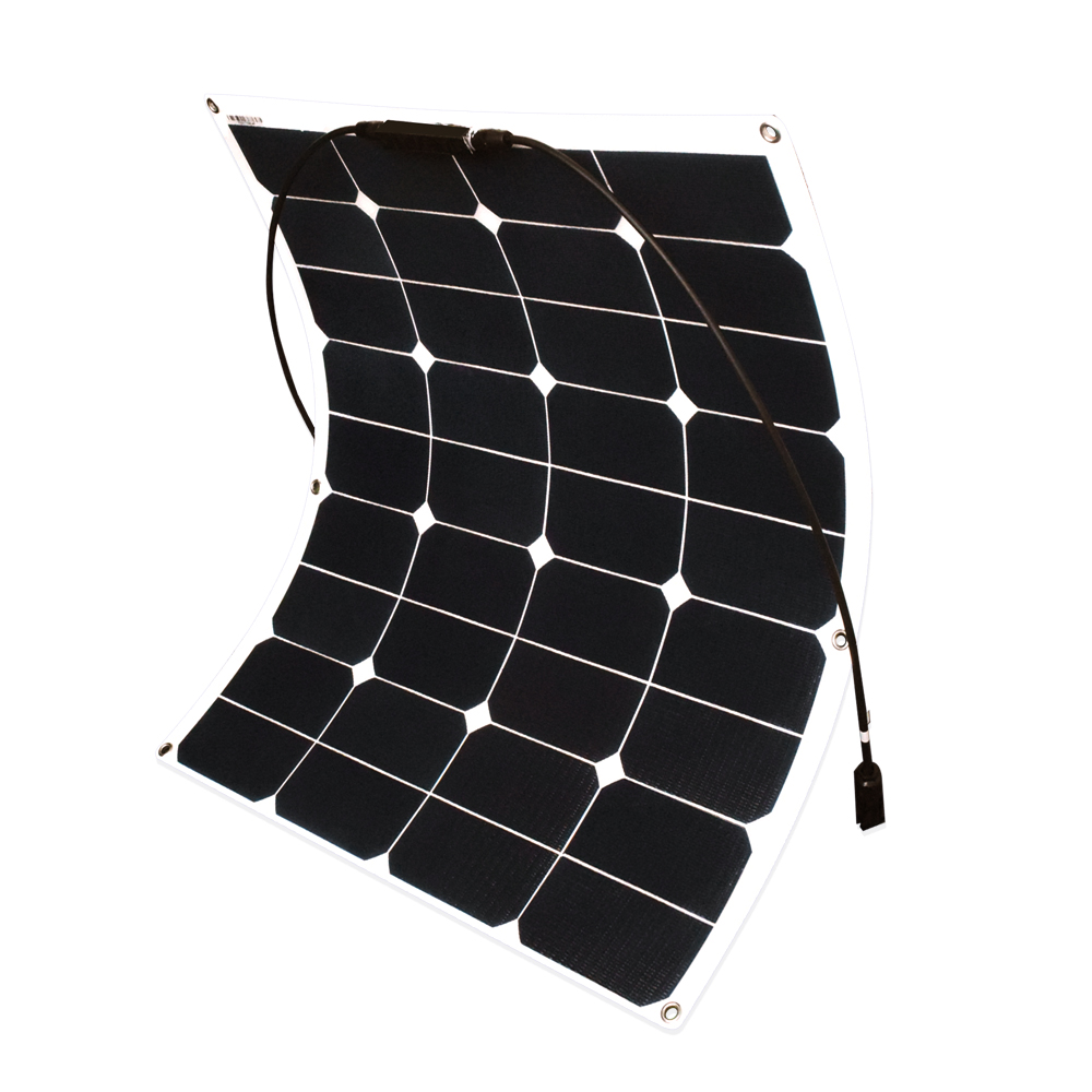 Xinpuguang 60W ETFE film flexible solar panel 12V solar cell yacht boat RV module for car RV boat battery DIY system kits 36pcs mono silicon 100w flexible solar panel for fishing boat car rv 12v solar panel module system kits battery solar charger