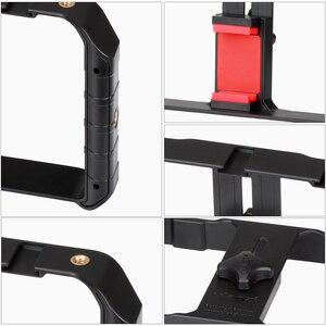 Image 5 - Ulanzi u rig pro smartphone equipamento de vídeo w 3 montagens de sapato caso filmmaking telefone portátil vídeo estabilizador aperto tripé suporte de montagem