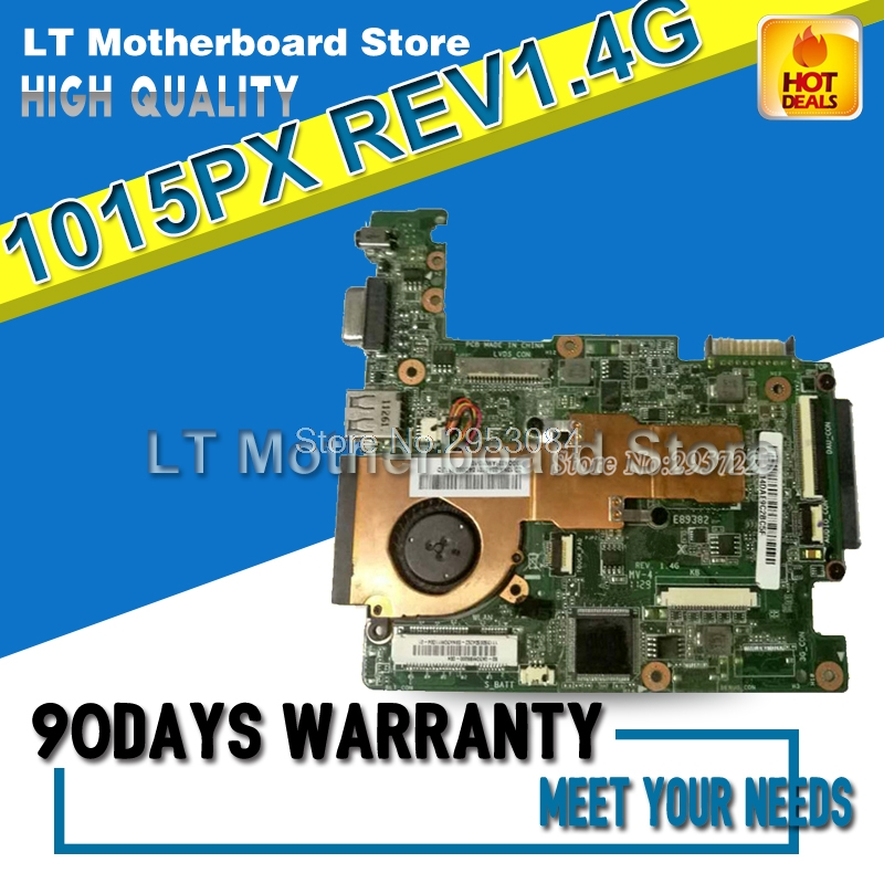 For Asus Eee PC 1015PX REV1.4G Laptop Motherboard System Board Main Board Mainboard Card Logic Board Tested Well Motherboard d05021b maine board fittings of a machine tested well original
