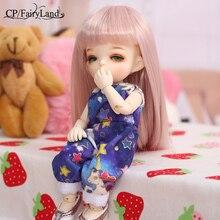 Fairyland ชั้น Pukifee ฮาโลวีน 1/8 bjd body ชุดเด็กทารกตุ๊กตาตาคุณภาพสูงของเล่น shop เรซิ่น