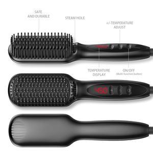 Image 4 - צעד אחד שיער מייבש & מעניק נפח אוויר חם מברשת אוויר חם קרלינג/חשמלי זקן שיער מברשת מחליק סבך מסרק ברזל שיער טיפול