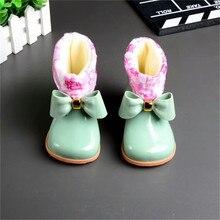 Милые мальчики дождь Сапоги и ботинки для девочек мини Мелисса обувь с бантом Сапоги и ботинки для девочек детские прозрачная обувь Обувь для девочек желе Сапоги и ботинки для девочек мини Мелисса Нескользящая водонепроницаемая обувь Сапоги и ботинки для девочек