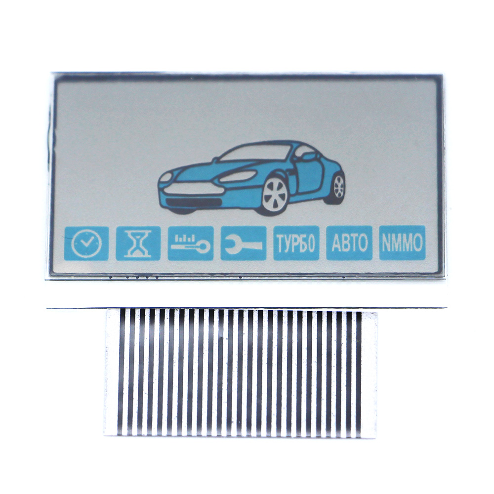 Free Shipping New Arrival A93 LCD Display Flexible Cable For Starline A93 Remote Controller A93 Display With Zebra Stripes