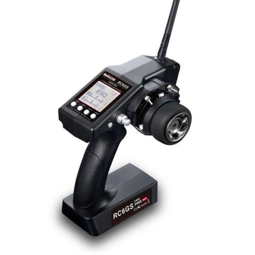 Оригинальный radiolink RC 2,4 г 6CH 6GS гоночный автомобиль контроллер передатчик и R6FG гироприемник (400 м расстояние) Partrs