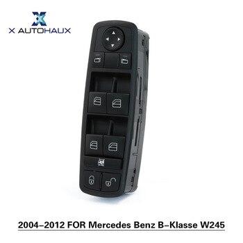 X AUTOHAUX Anteriore Sinistro Lato Guida Electric Power Finestra Master Control Interruttore Auto Per Mercedes-Benz B-Klasse W245 2004-2012