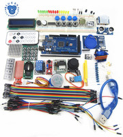 100 New Mega 2560 R3 Starter Kit Motor Servo RFID Ultrasonic Ranging Relay LCD For Arduino