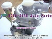 RHF5 8972402101 8973295881 8971856452 VC420037 Turbine Turbo Turbocharger For ISUZU D MAX Pickup 2.5L TD 4JA1T 4JA1L 2004 136HP