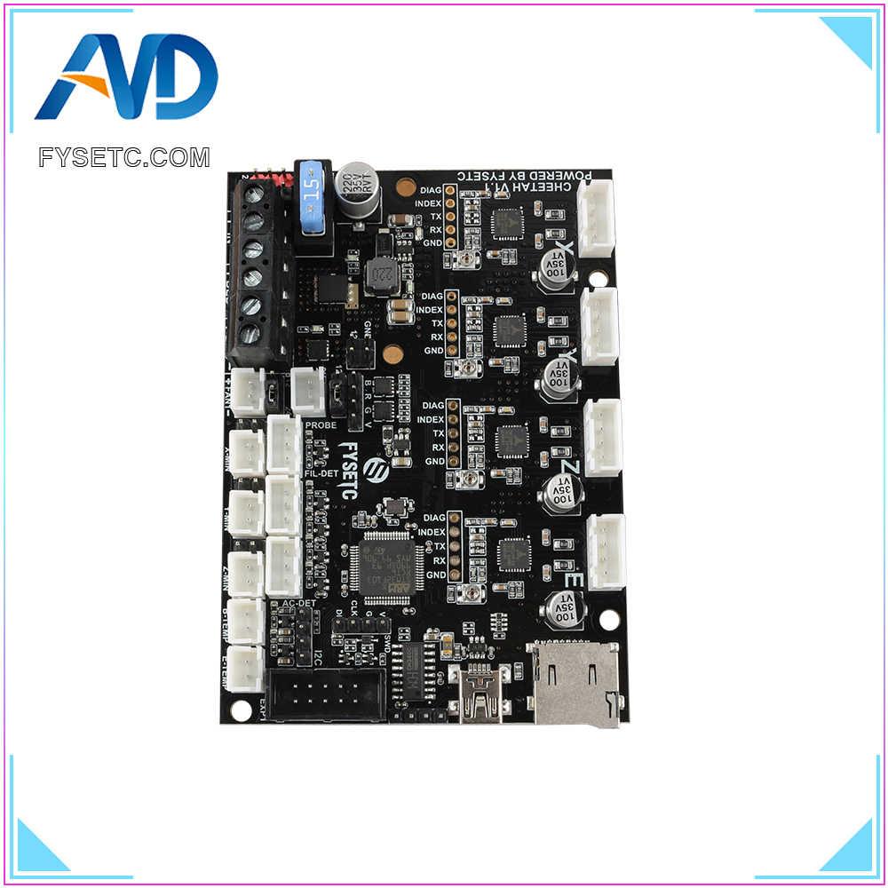 Cheetah V1 1 32bit Board + TMC2209 UART Stepper Driver Silent Control Board  Marlin 2 0 For Ender-3 VS Ramps 1 4 3D printer parts