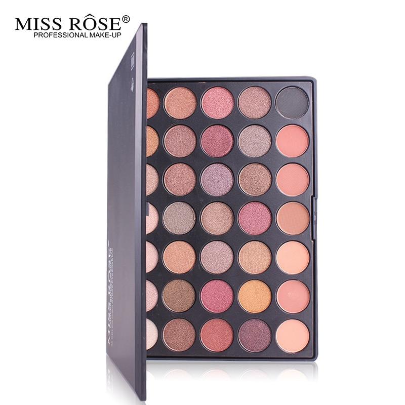 Shimmer matte eyeshadow 35 Color Eyeshadow Pallete Silky Pows