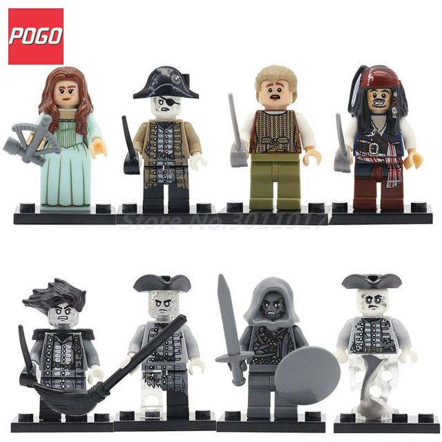 Aliexpress.com : Buy POGO Caribbean Pirates Hobbits Figure ...
