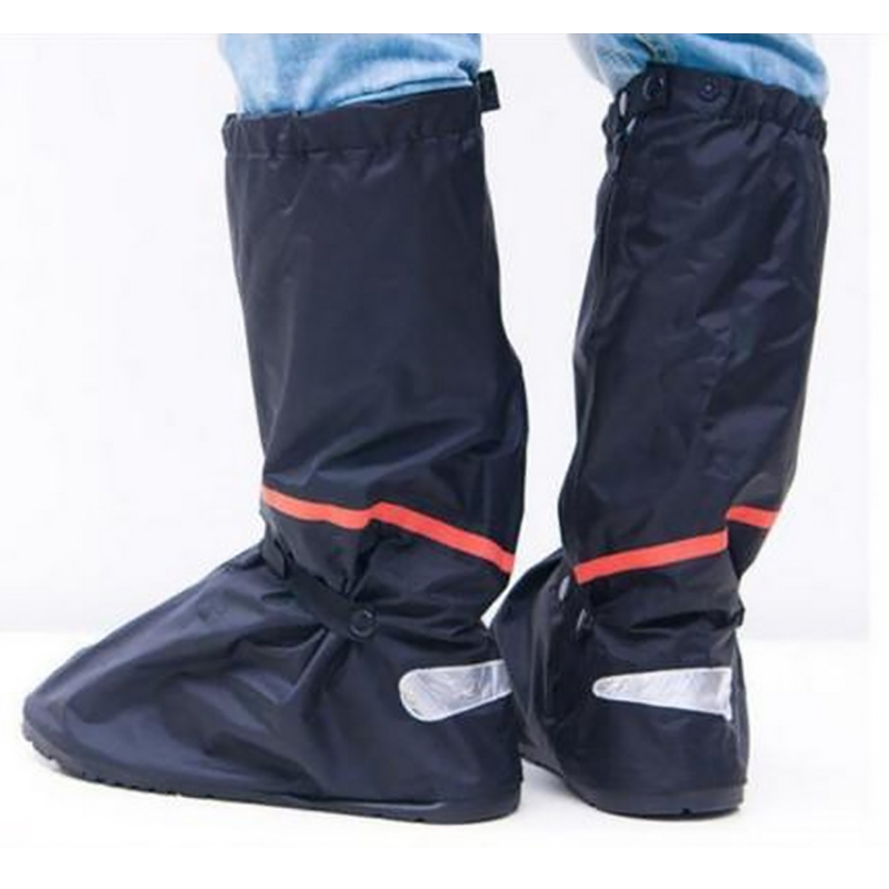 Mens womens anti slip waterproof shoe covers rain boots for Waterproof fishing boots