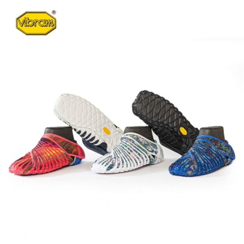 2019 Vibram cinq doigts Super léger chaussures de course Bat chaussures enveloppé dans des chaussures en tissu pour hommes femmes chaussures de Sport en plein air - 4