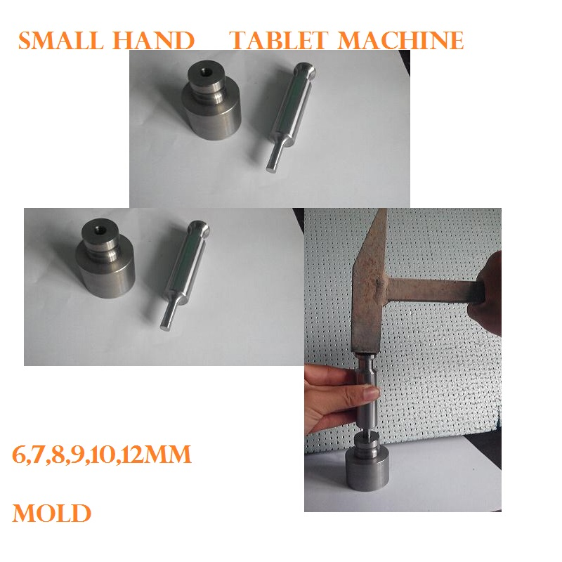 Manual tablet machine tool for small manual tablet press