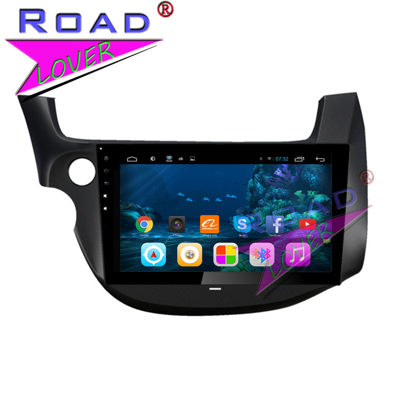 TOPNAVI Quad Core 10.1 2G+32GB Android 6.0 Car PC System Media Center For Honda Fit New 2009-2011 GPS Navigation Auto Video 3G