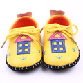 Classic Children Baby Kids Boy Girl PU House Floor Shoes Autumn Fashion Non-Slip Soft Toddlers First Walkers