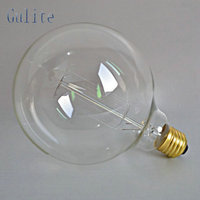 LightInBox Wholesale Price 40piece E27 40W Retro Edison Style Light Bulbs G125 tungsten lamp 220V Incandescent Vintage Bulb