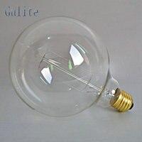Lightinbox цена оптовой продажи 40 шт E27 40 Вт Ретро Эдисон Стиль Лампочки G125 лампы накаливания 220 В накаливания Винтаж лампы