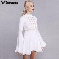 Witsourcesผู้หญิงชุดชีฟองสีขาว
