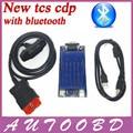 Mais novo 2015 R3/2014. R2 Preto Novo VCI CDP PRO Plus com Bluetooth Para O Caminhão Do Carro & 3in1 Genérico OBDII Auto Scanner de Diagnóstico ferramentas