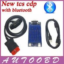 Lo nuevo 2015 R3/2014. R2 Negro Nuevo VCI CDP PRO Plus con Bluetooth Para Coche Camión y Genérico 3in1 Auto OBDII Escáner de Diagnóstico herramientas