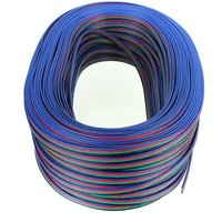 4 Pins Cable Connector Extension Wire Splitter For RGB RGB 3528 5050 LED Strip Light 100M