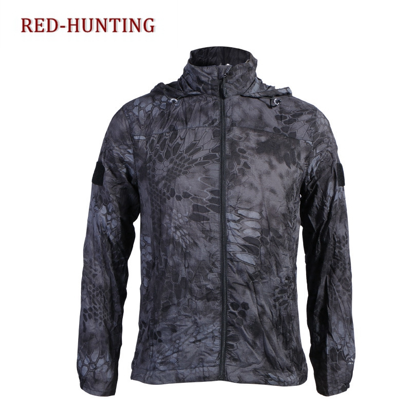 Tactical Skin Jacket Waterproof Raincoat Windbreaker Thin Military Hunter Clothes Quick-drying Sunscreen Uv Protection Ideal Gift For All Occasions Wrench