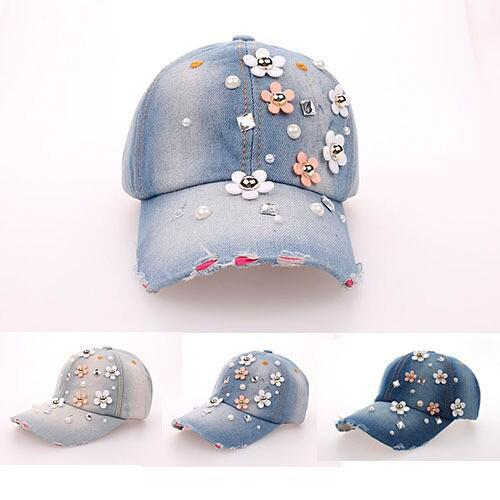 2015 hat sales cowboy rhinestone hat Floral point drill denim bone baseball cap snapback hats for women cheap fashion sale caps new fashion floral adjustable women cowboy denim baseball cap jean summer hat female adult girls hip hop caps snapback bone hats