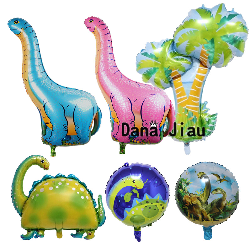 Creative Large Dinosaur Animal Foil Balloons Home Kids Birthday Party Decoration