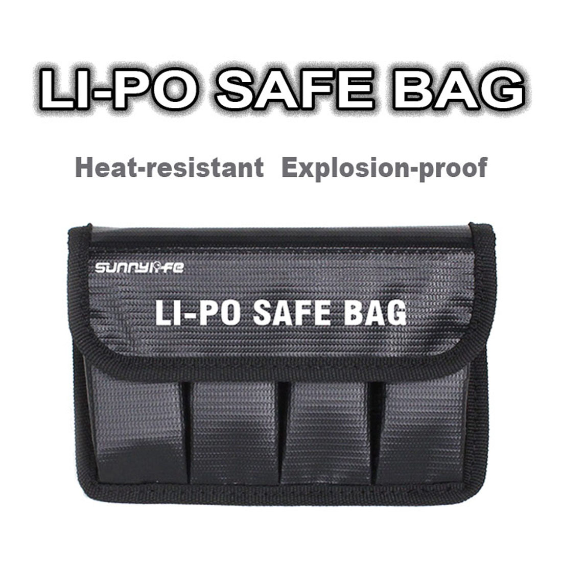 HOBBYINRC Lipo Battery Safe Bag Explosion proof Protective Battery Safety Guard Storage Bag for DJI OSMO OSMO Raw Pro