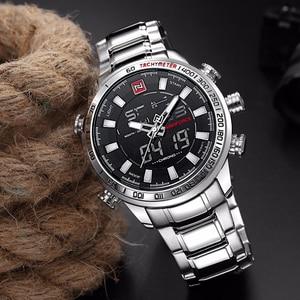 Image 3 - Relogio Masculino NAVIFORCE Mens Quartz Analog Watch Luxury Fashion Sport Wristwatch Waterproof Stainless Male Watches Clock