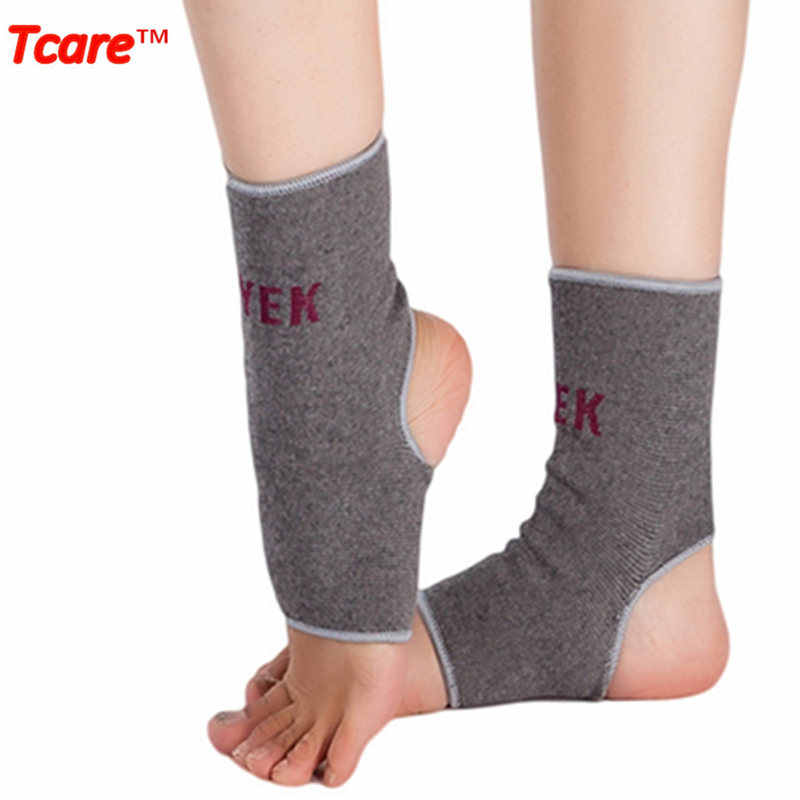 2735e15497 1Pair Tcare Far Infrared Health Care Ankle Brace Magnetic Therapy Massage Ankle  Support Belt Foot Care