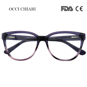 Image 5 - OCCI CHIARI 고품질 패션 안경 브랜드 디자인 안경 수제 안경 프레임 여성 아세테이트 아방트 가드 선물 MELATTI